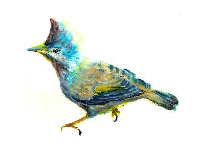 Oil Painting Bird-jim80-Art Print