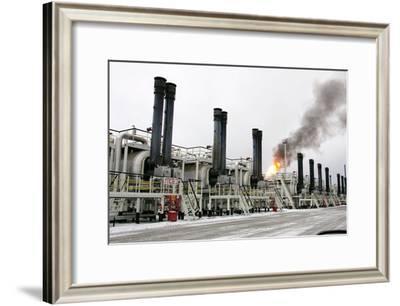 Oil Refinery-Ria Novosti-Framed Photographic Print