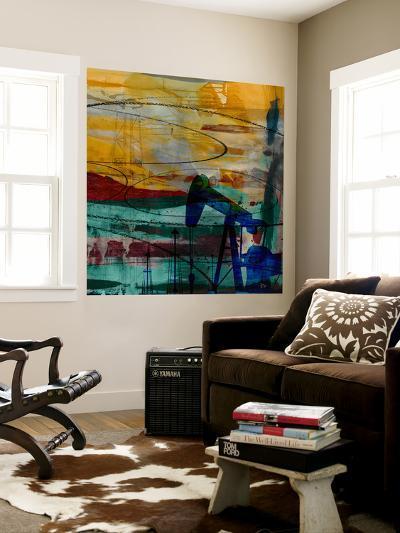Oil Rig Abstract-Sisa Jasper-Wall Mural