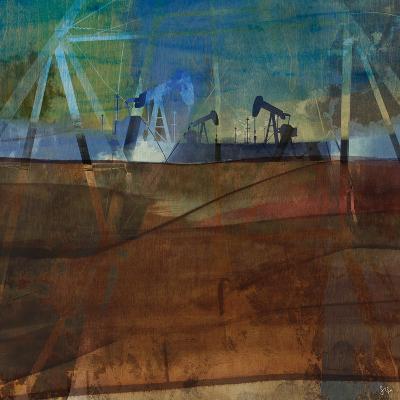 Oil Rig Abstraction II-Sisa Jasper-Art Print