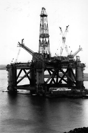 Oil Rigs-Colin Davey-Photographic Print