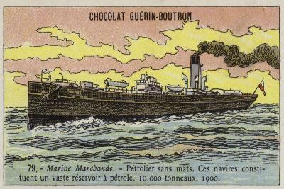 Oil Tanker, 1900--Giclee Print