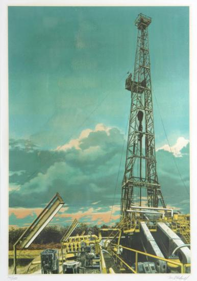 Oil Well-Tom Blackwell-Limited Edition