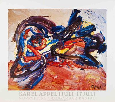 Oiseau-Karel Appel-Art Print