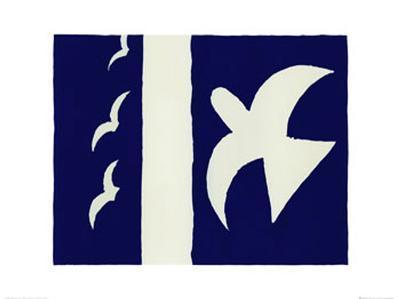 Oiseaux-Georges Braque-Art Print