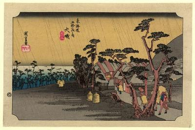 Oiso-Utagawa Hiroshige-Giclee Print