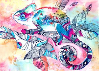 Chameleon by okalinichenko