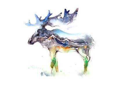 Elk by okalinichenko