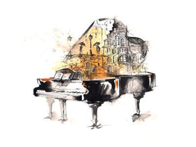 Grand Piano by okalinichenko