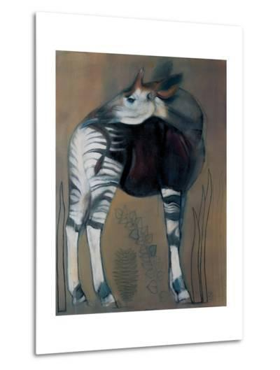 Okapi, 2005-Mark Adlington-Metal Print