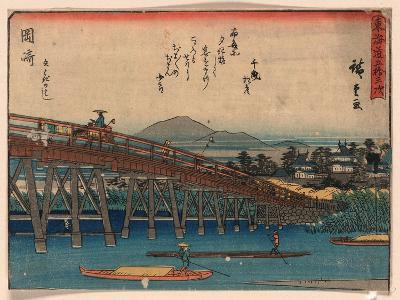 Okazaki-Utagawa Hiroshige-Giclee Print