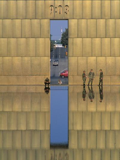 Oklahoma City National Memorial, Oklahoma City, Oklahoma, USA-Michael Snell-Photographic Print