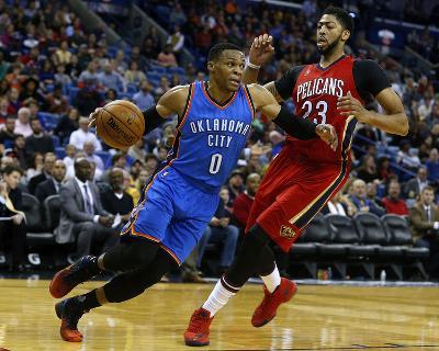 Oklahoma City Thunder v New Orleans Pelicans-Jonathan Bachman-Photo