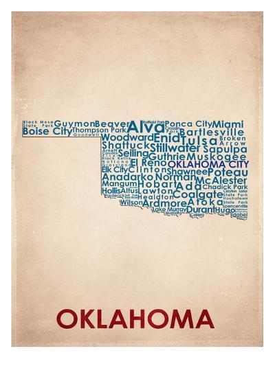 Oklahoma--Art Print