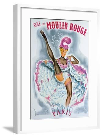 Bal du Moulin Rouge, French Cancan