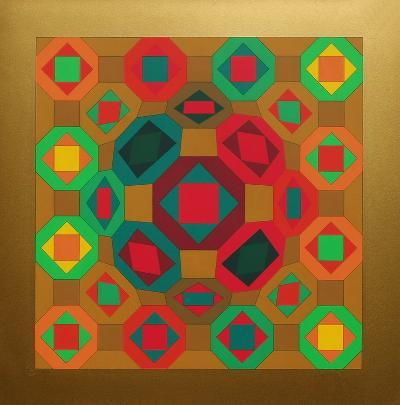 Okta Or-Victor Vasarely-Limited Edition