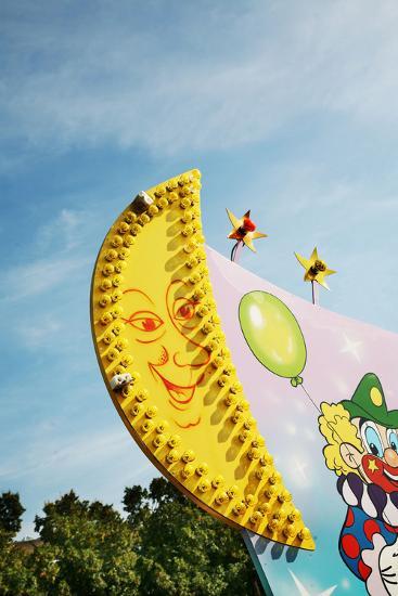 Oktoberfest, 'Wies'N', Funfair, Munich, Bavaria- Bluehouseproject-Photographic Print