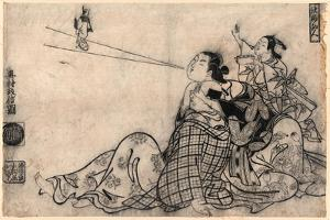 Tekkai Sennin by Okumura Masanobu