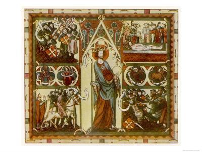 Olaf II Haraldsson Also Known as Saint Olaf King of Norway--Giclee Print