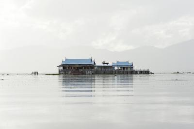 Old 20th Century British Lake Resort, Now Being Restored, Inle Lake, Shan State, Myanmar (Burma)-Annie Owen-Photographic Print