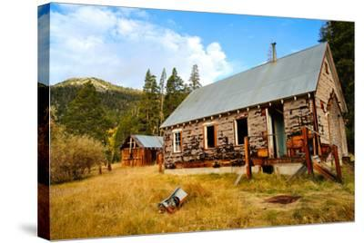 Old Abandoned House-bendicks-Stretched Canvas Print