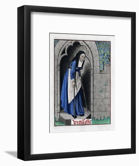 Old Age, C1480-Henry Shaw-Framed Giclee Print