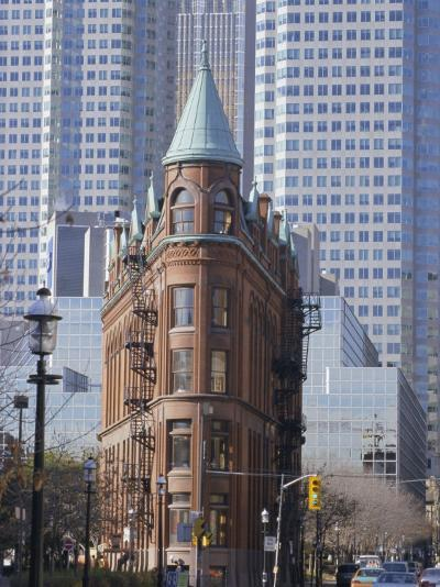Old and New Buildings in the Downtown Financial District, Toronto, Ontario, Canada, North America-Anthony Waltham-Photographic Print