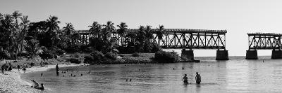 Old Bahia Honda Bridge Florida Keys - Bridges Roads-Philippe Hugonnard-Photographic Print