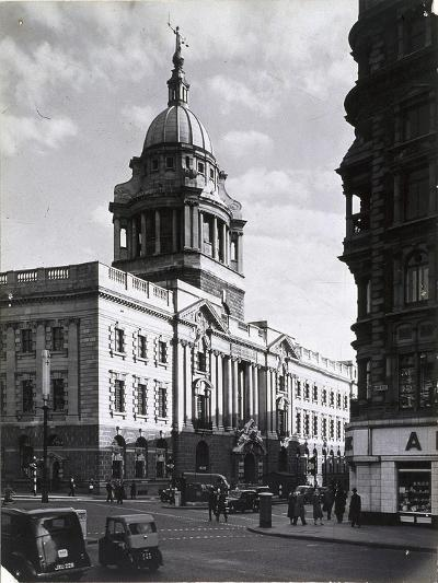 Old Bailey, Central Criminal Court, London, C1941--Photographic Print