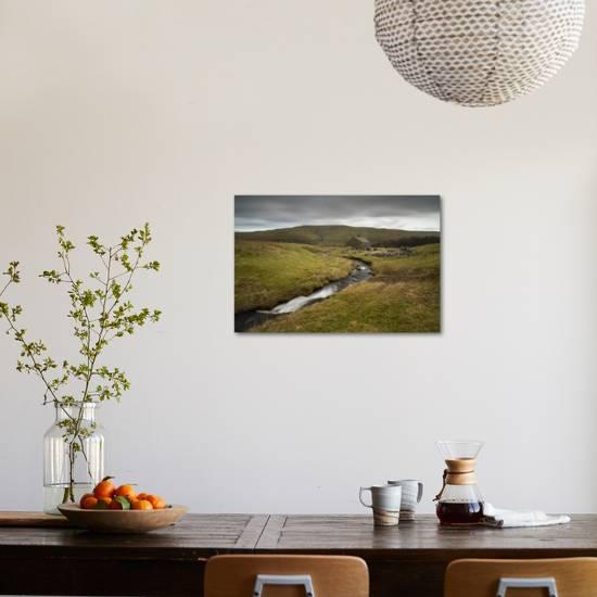 Old Barn Above Wharfedale North Yorkshire Yorkshire England United Kingdom Europe Photographic Print By Bill Ward Art Com