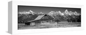 Old Barn on a Landscape, Grand Teton National Park, Wyoming, USA