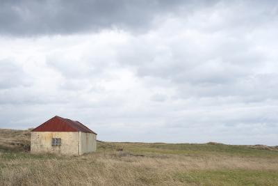 Old Barn, Reykjanes Peninsula, South West Iceland-Julia Wellner-Photographic Print
