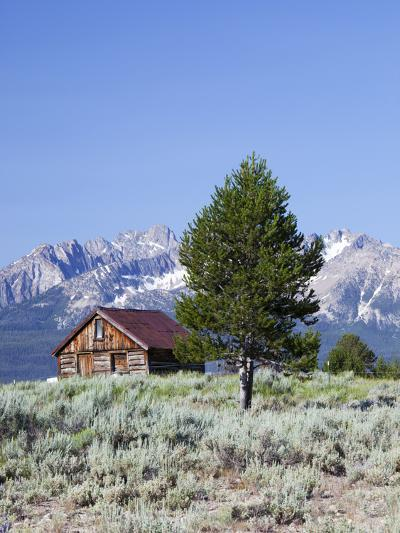 Old Barn, Sawtooth National Recreation Area, Idaho, USA-Jamie & Judy Wild-Photographic Print