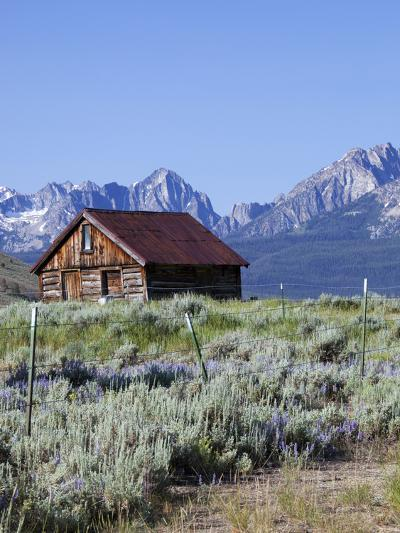 Old Barn, Sawtooth National Recreation Area, Idaho, USA-Jamie & Judy Wild-Photographic Print