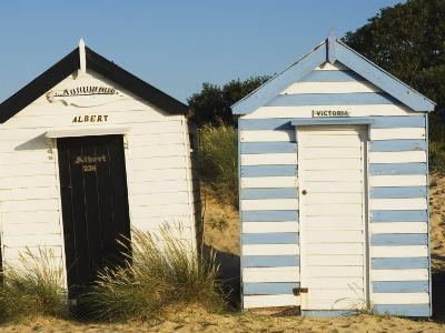Old Beach Huts, Southwold, Suffolk, England, United Kingdom-Amanda Hall-Photographic Print
