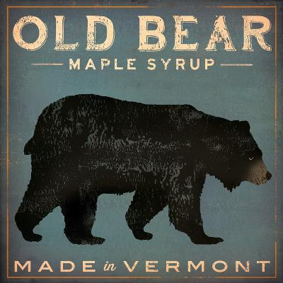 Old Bear-Ryan Fowler-Art Print