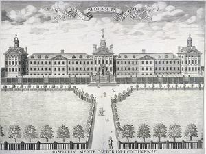 Old Bethlehem Hospital, London, C1714