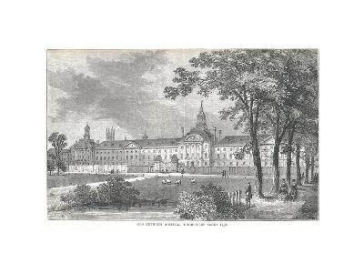 Old Bethlem Hospital. Moorfields About 1750, 1878-Walter Thornbury-Giclee Print