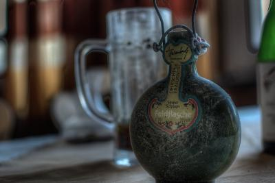 Old Bottle of Schnaps-Nathan Wright-Photographic Print