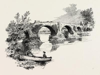 Old Bridge of Forth--Giclee Print