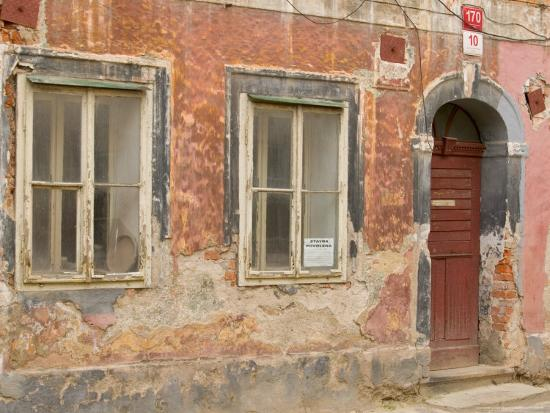 Old Building, Ceske Budejovice, Czech Republic-Russell Young-Photographic Print