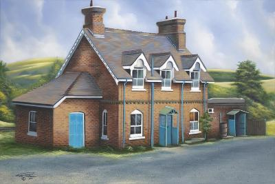 Old Burghclere Station-Geno Peoples-Giclee Print