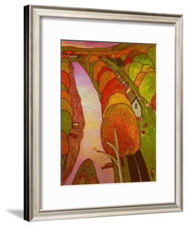 Old Canal Road II-John Newcomb-Framed Giclee Print