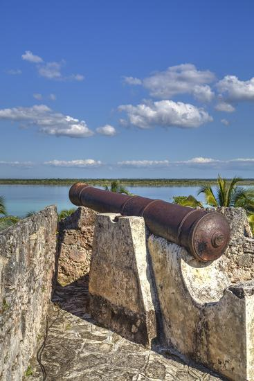Old Cannon, Ramparts of San Felipe Fort, Built in 1733-Richard Maschmeyer-Photographic Print