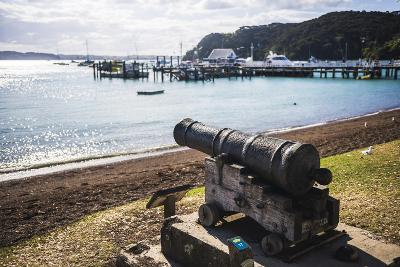 Old Cannon Used to Defend Russell in 1845, Bay of Islands, Northland Region-Matthew Williams-Ellis-Photographic Print