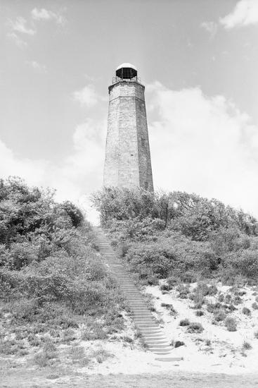 Old Cape Henry Lighthouse-Philip Gendreau-Photographic Print