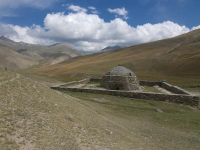 Old Caravanserai Tash Rabat Along the Old Silk Road, Torugart Pass, Kyrgyzstan, Central Asia-Michael Runkel-Photographic Print