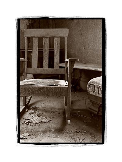Old Chair, Bodie California-Steve Gadomski-Photographic Print