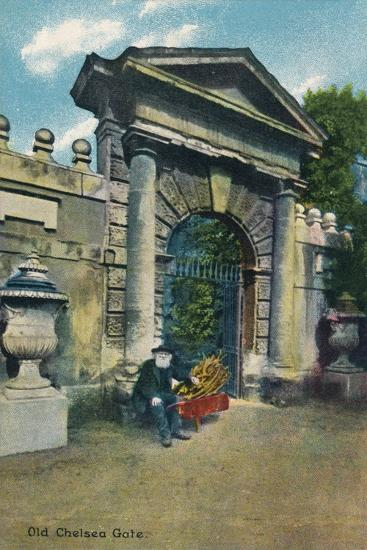 'Old Chelsea Gate', c1910-Unknown-Giclee Print