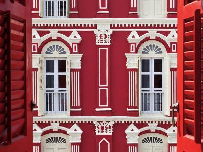 Old Chinese Merchant House, China Town District, Singapore, South East Asia-Gavin Hellier-Photographic Print